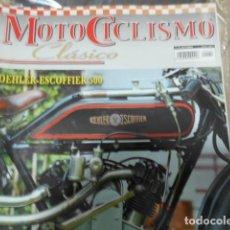 Coches y Motocicletas: REVISTA MOTOCICLISMO CLÁSICO Nº 60 SEPTIEMBRE - KOEHLER-ESCOFFIER 500 - RIEJU YSARD 125 - LA BAÑEZA. Lote 239797795