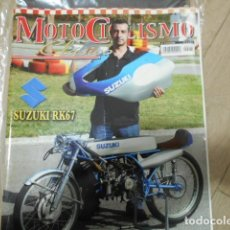 Coches y Motocicletas: REVISTA MOTOCICLISMO CLÁSICO Nº 75 DICIEMBRE - SUZUKI RK67 - HONDA FOUR CB750 - HOMENAJE F. X. BULT. Lote 239798935