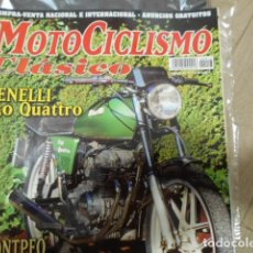 Coches y Motocicletas: REVISTA MOTOCICLISMO CLÁSICO Nº 17 FEBRERO - BENELLI 250 QUATTRO - MONTPEO - OSSA ENDURO - SORIA A. Lote 239803460