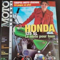 Carros e motociclos: 2000 REVISTA MOTO LÉGENDE - HONDA 125 SL - TERROT COMPETICIÓN - BULTACO SHERPA - VINCENT. Lote 249175600