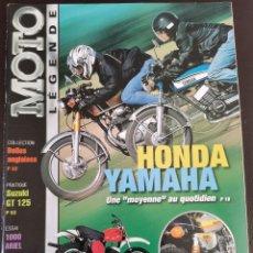 Carros e motociclos: 2001 REVISTA MOTO LÉGENDE - CZ 360 - OSSA YANKEE - SUZUKI GT 125 - ARIEL 1000. Lote 249176090