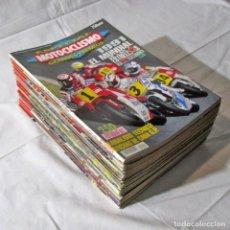 Coches y Motocicletas: 28 REVISTAS MOTOCICLISMO + NÚMERO ESPECIAL 1991, VER NÚMEROS EN FOTOS ADICIONALES. Lote 249236710