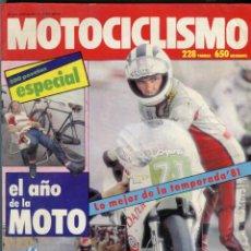 Coches y Motocicletas: MOTOCICLISMO GUIA 1982 - EL AÑO DE LA MOTO - 228 PAGINAS Y 650 GRABADOS. Lote 250285290