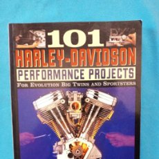 Coches y Motocicletas: 101 HARLEY-DAVIDSON - PERFORMANCE PROJECTS. Lote 251230455