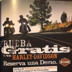 Coches y Motocicletas: PUBLICIDAD DE MOTOS HARLEY-DAVIDSON. PÁGINA DE REVISTA. AÑO 2010. ENMARCABLE. NUEVA.. Lote 251263225