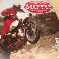 Voitures et Motocyclettes: ENCICLOPEDIA DE LA MOTO - VOLUMEN 61. Lote 251733420