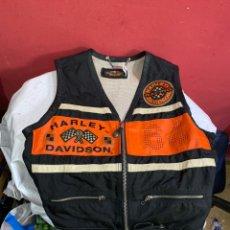 Coches y Motocicletas: CHAQUETA CHALECO ORIGINAL HARLEY DAVIDSON TALLA M.L . VER FOTOS. Lote 254105695
