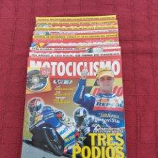 Coches y Motocicletas: REVISTA DE MOTO MOTOCICLISMO LOTE DE 10 REVISTAS,AÑO 2003/MOTOS/. Lote 257715765