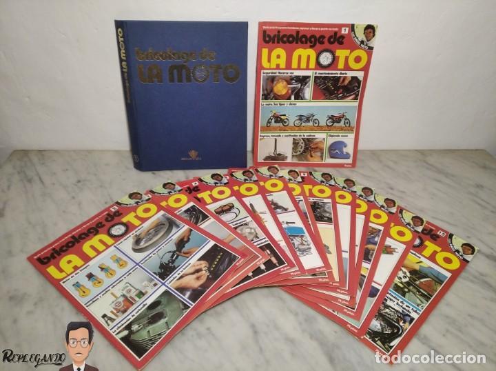 15 FASCÍCULOS REVISTA BRICOLAGE DE LA MOTO + TAPAS TOMO 1 (CON ÁNGEL NIETO) FANTÁSTICO ESTADO - V (Coches y Motocicletas - Revistas de Motos y Motocicletas)