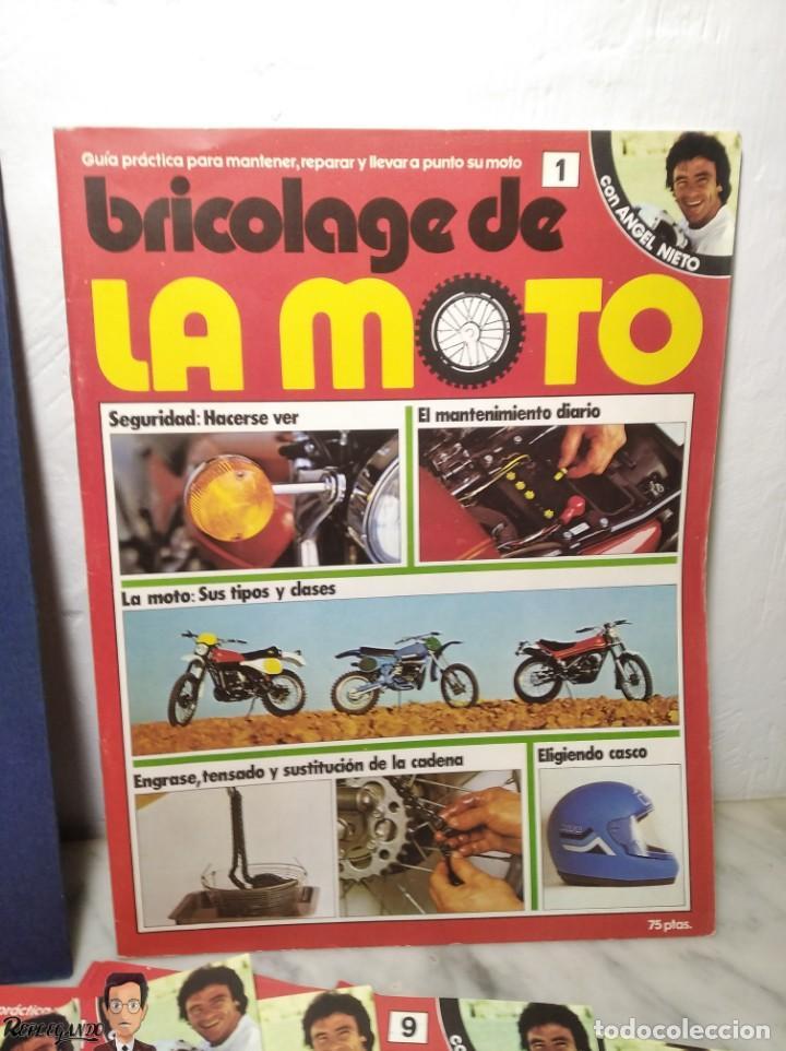 Coches y Motocicletas: 15 FASCÍCULOS REVISTA BRICOLAGE DE LA MOTO + TAPAS TOMO 1 (CON ÁNGEL NIETO) FANTÁSTICO ESTADO - V - Foto 6 - 258929590