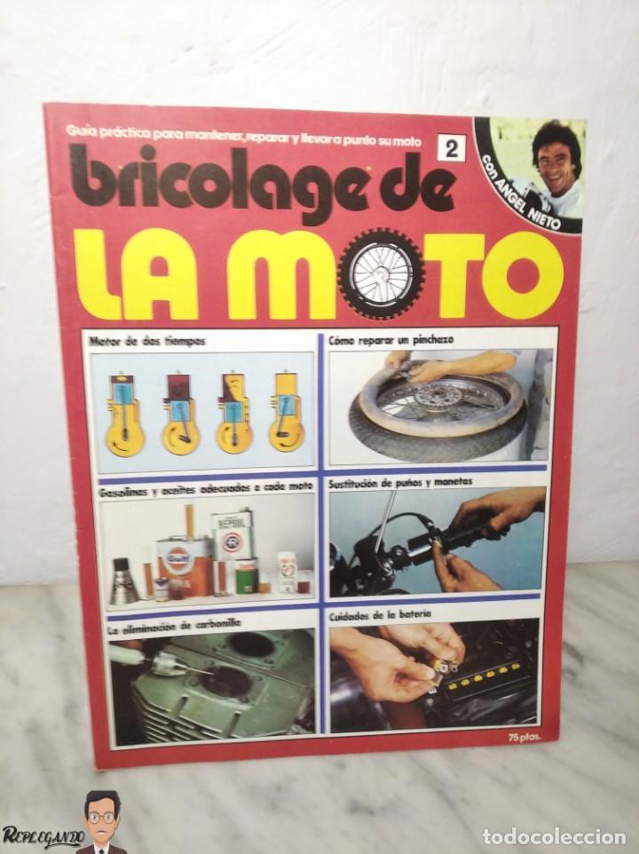 Coches y Motocicletas: 15 FASCÍCULOS REVISTA BRICOLAGE DE LA MOTO + TAPAS TOMO 1 (CON ÁNGEL NIETO) FANTÁSTICO ESTADO - V - Foto 9 - 258929590
