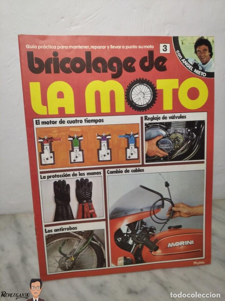 Coches y Motocicletas: 15 FASCÍCULOS REVISTA BRICOLAGE DE LA MOTO + TAPAS TOMO 1 (CON ÁNGEL NIETO) FANTÁSTICO ESTADO - V - Foto 10 - 258929590