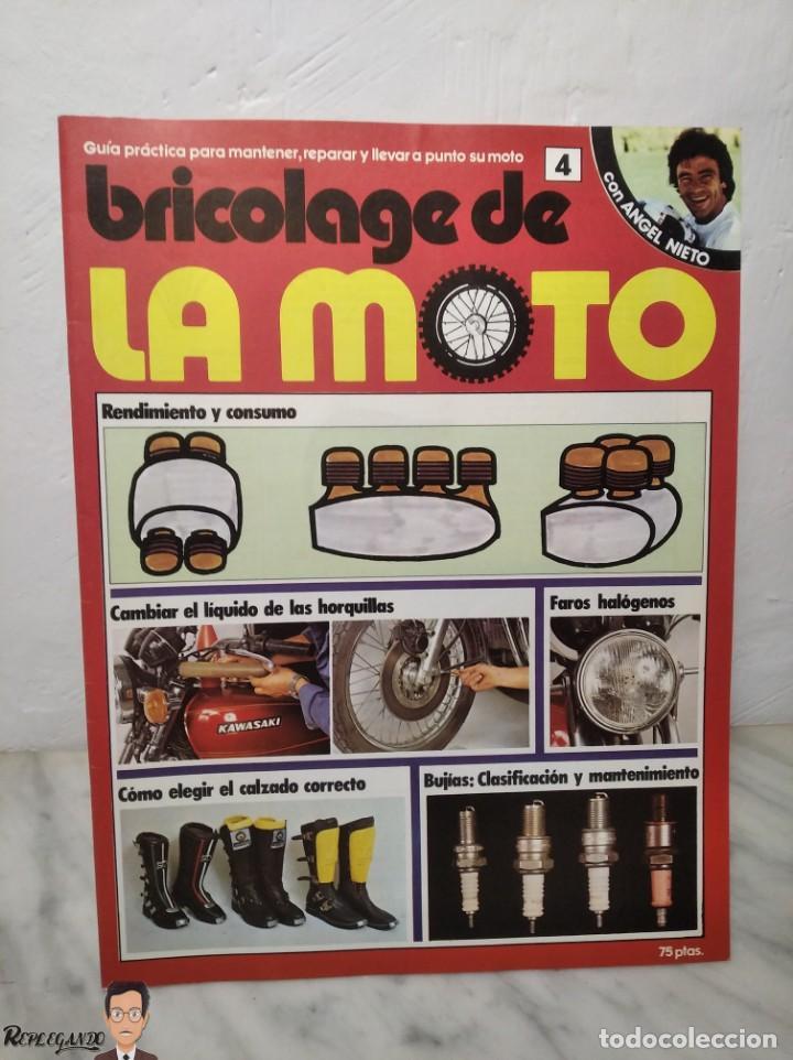 Coches y Motocicletas: 15 FASCÍCULOS REVISTA BRICOLAGE DE LA MOTO + TAPAS TOMO 1 (CON ÁNGEL NIETO) FANTÁSTICO ESTADO - V - Foto 11 - 258929590
