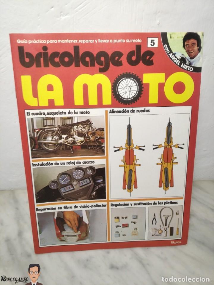 Coches y Motocicletas: 15 FASCÍCULOS REVISTA BRICOLAGE DE LA MOTO + TAPAS TOMO 1 (CON ÁNGEL NIETO) FANTÁSTICO ESTADO - V - Foto 12 - 258929590