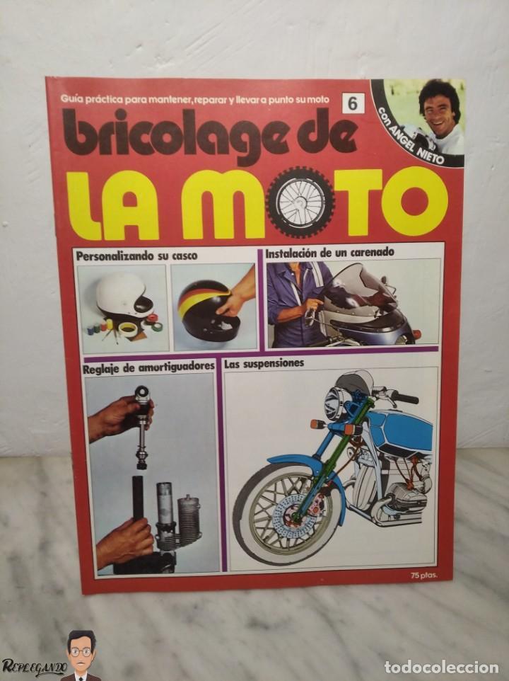Coches y Motocicletas: 15 FASCÍCULOS REVISTA BRICOLAGE DE LA MOTO + TAPAS TOMO 1 (CON ÁNGEL NIETO) FANTÁSTICO ESTADO - V - Foto 13 - 258929590