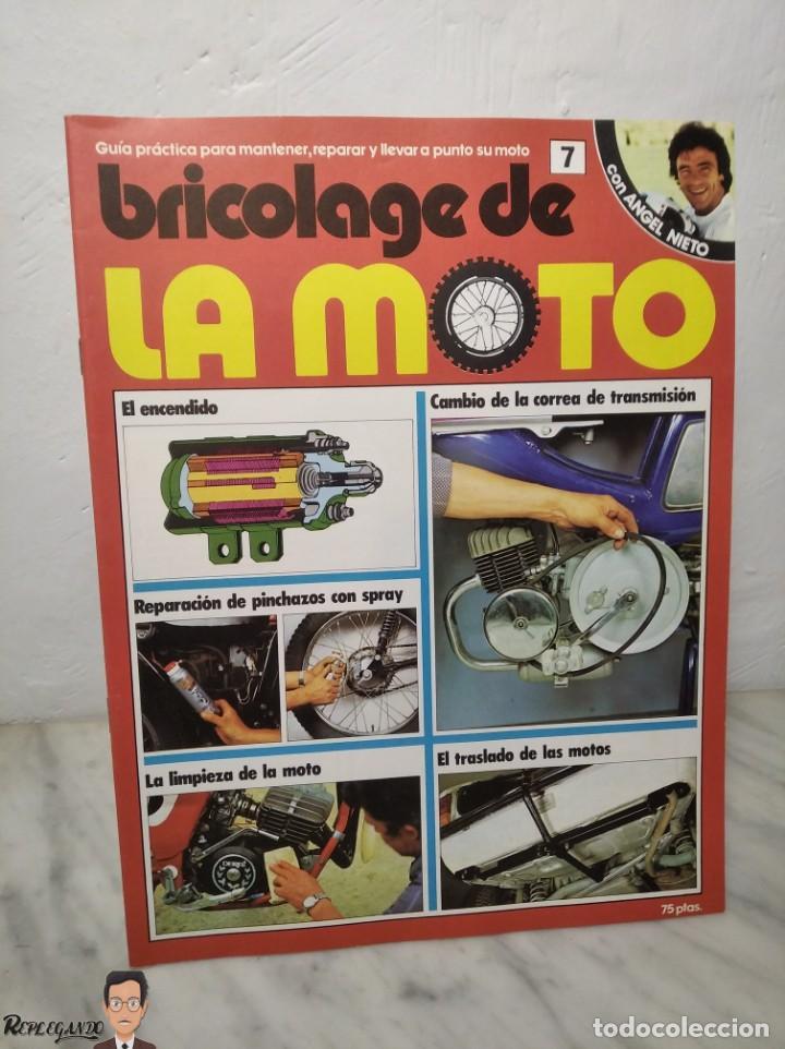 Coches y Motocicletas: 15 FASCÍCULOS REVISTA BRICOLAGE DE LA MOTO + TAPAS TOMO 1 (CON ÁNGEL NIETO) FANTÁSTICO ESTADO - V - Foto 14 - 258929590