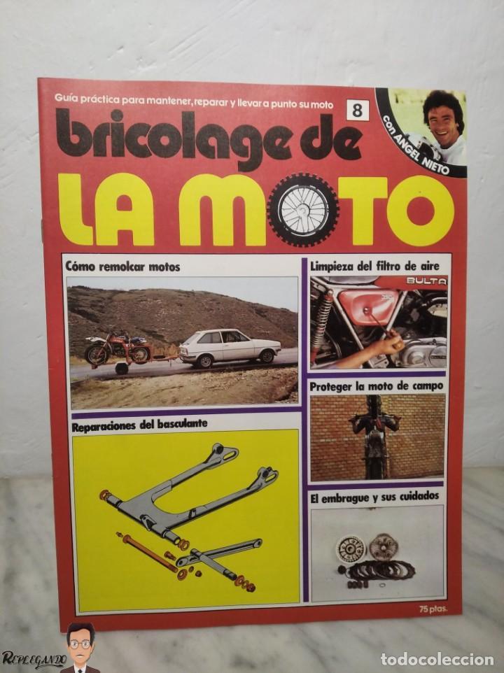 Coches y Motocicletas: 15 FASCÍCULOS REVISTA BRICOLAGE DE LA MOTO + TAPAS TOMO 1 (CON ÁNGEL NIETO) FANTÁSTICO ESTADO - V - Foto 15 - 258929590