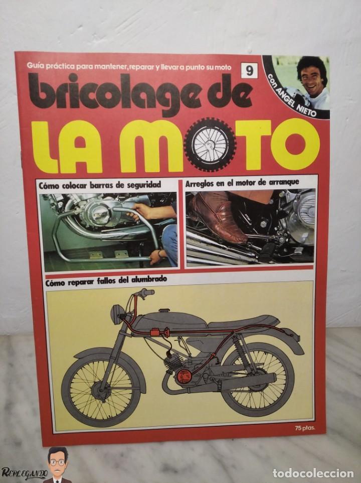 Coches y Motocicletas: 15 FASCÍCULOS REVISTA BRICOLAGE DE LA MOTO + TAPAS TOMO 1 (CON ÁNGEL NIETO) FANTÁSTICO ESTADO - V - Foto 16 - 258929590
