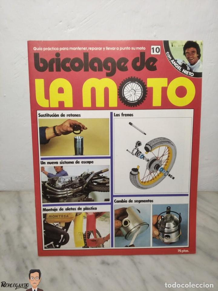 Coches y Motocicletas: 15 FASCÍCULOS REVISTA BRICOLAGE DE LA MOTO + TAPAS TOMO 1 (CON ÁNGEL NIETO) FANTÁSTICO ESTADO - V - Foto 18 - 258929590