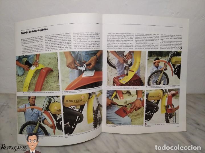 Coches y Motocicletas: 15 FASCÍCULOS REVISTA BRICOLAGE DE LA MOTO + TAPAS TOMO 1 (CON ÁNGEL NIETO) FANTÁSTICO ESTADO - V - Foto 19 - 258929590