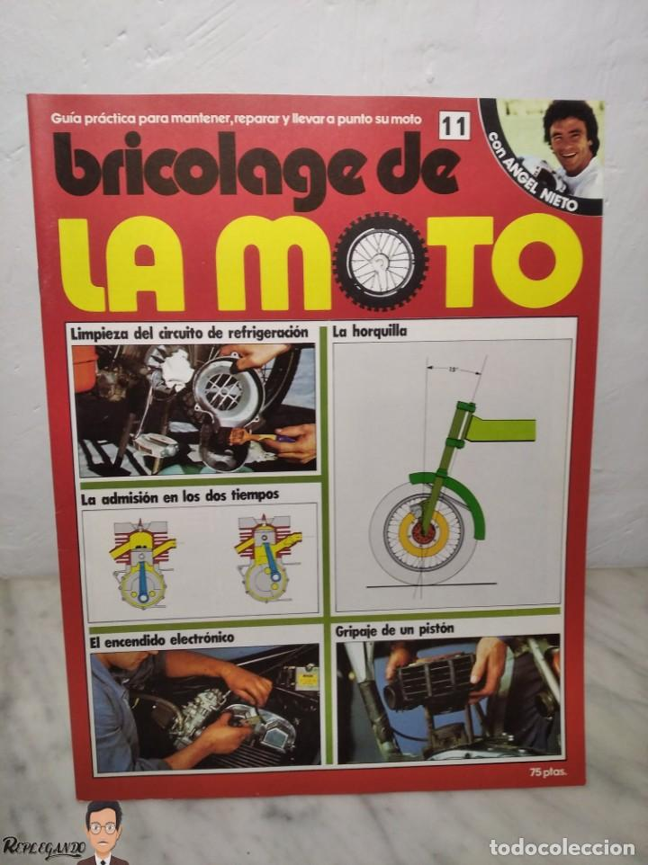 Coches y Motocicletas: 15 FASCÍCULOS REVISTA BRICOLAGE DE LA MOTO + TAPAS TOMO 1 (CON ÁNGEL NIETO) FANTÁSTICO ESTADO - V - Foto 21 - 258929590