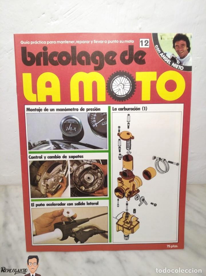 Coches y Motocicletas: 15 FASCÍCULOS REVISTA BRICOLAGE DE LA MOTO + TAPAS TOMO 1 (CON ÁNGEL NIETO) FANTÁSTICO ESTADO - V - Foto 24 - 258929590