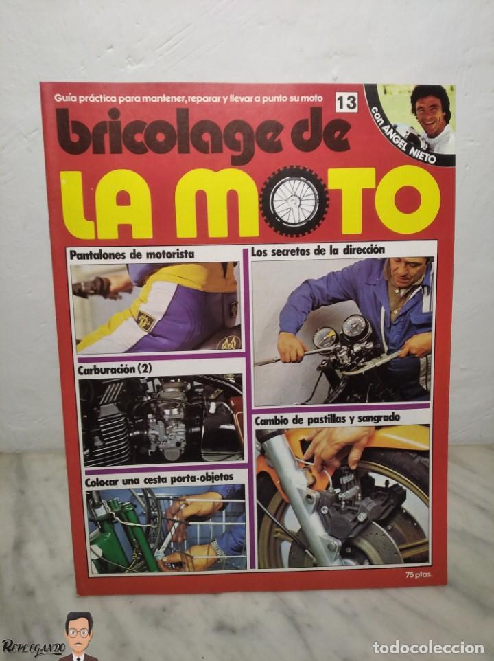 Coches y Motocicletas: 15 FASCÍCULOS REVISTA BRICOLAGE DE LA MOTO + TAPAS TOMO 1 (CON ÁNGEL NIETO) FANTÁSTICO ESTADO - V - Foto 25 - 258929590