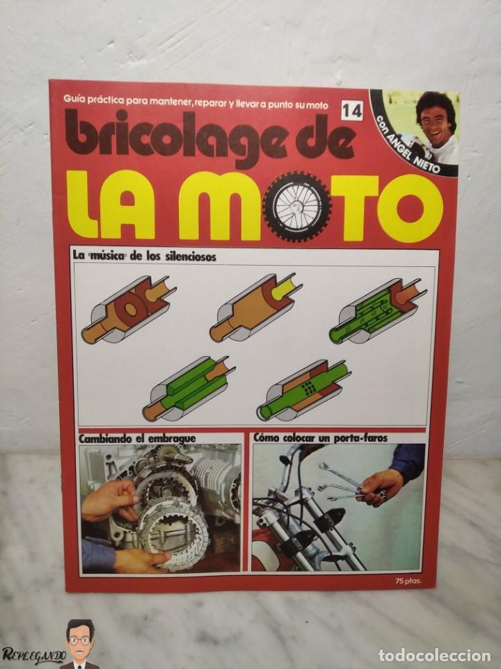 Coches y Motocicletas: 15 FASCÍCULOS REVISTA BRICOLAGE DE LA MOTO + TAPAS TOMO 1 (CON ÁNGEL NIETO) FANTÁSTICO ESTADO - V - Foto 27 - 258929590