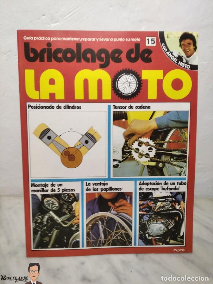 Coches y Motocicletas: 15 FASCÍCULOS REVISTA BRICOLAGE DE LA MOTO + TAPAS TOMO 1 (CON ÁNGEL NIETO) FANTÁSTICO ESTADO - V - Foto 28 - 258929590