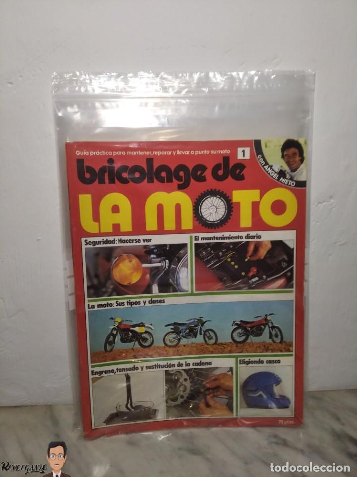 Coches y Motocicletas: 15 FASCÍCULOS REVISTA BRICOLAGE DE LA MOTO + TAPAS TOMO 1 (CON ÁNGEL NIETO) FANTÁSTICO ESTADO - V - Foto 31 - 258929590