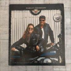 Coches y Motocicletas: CATALOGO HARLEY DAVIDSON 1995. Lote 261232635
