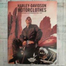 Coches y Motocicletas: CATALOGO HARLEY DAVIDSON MOTORCLOTHES 1998. Lote 261232770