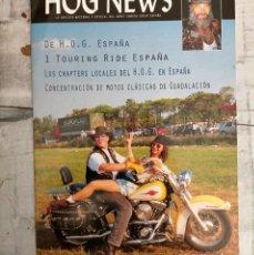Coches y Motocicletas: HARLEY DAVIDSON HOG NEWS. Lote 261233135