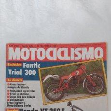 Coches y Motocicletas: REVISTA MOTOCICLISMO NUM. 823, 22 OCTUBRE 1983. Lote 263163930