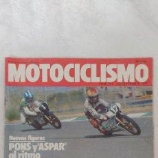 Coches y Motocicletas: REVISTA MOTOCICLISMO NUM.721, 26 SEPTIEMBRE 1981. Lote 263164005