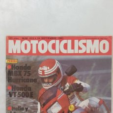 Coches y Motocicletas: REVISTA MOTOCICLISMO NUM. 819, 24 SEPTIEMBRE 1983. Lote 263164125