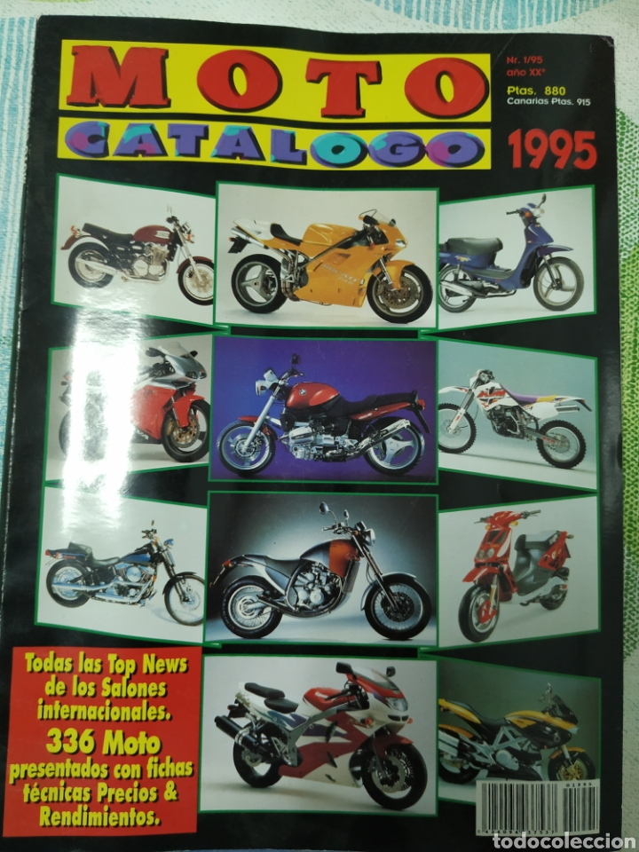 MOTO CATÁLOGO 1995 (Coches y Motocicletas - Revistas de Motos y Motocicletas)