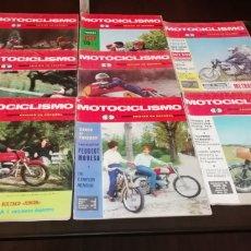 Coches y Motocicletas: LOTE DE 8 NÚMEROS DE LA REVISTA MOTOCICLISMO AÑO 1966.. Lote 268865234