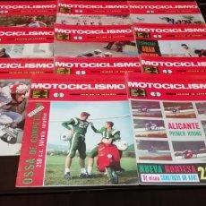 Coches y Motocicletas: LOTE DE 11 REVISTAS DE MOTOCICLISMO AÑO 1967.. Lote 268866649