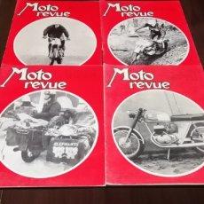 Coches y Motocicletas: LOTE DE 4 REVISTAS FRANCESAS DE MOTOCICLISMO DEL AÑO 1968. MOTO REVUE.. Lote 268868704