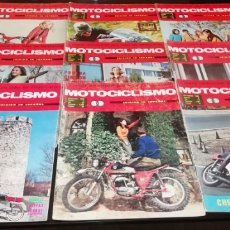 Coches y Motocicletas: LOTE DE 9 REVISTAS DE MOTOCICLISMO DEL AÑO 1968.. Lote 268870834