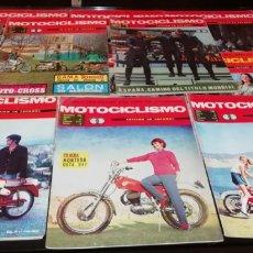 Coches y Motocicletas: LOTE DE 11 REVISTAS DE MOTOCICLISMO DEL AÑO 1969.. Lote 268872974