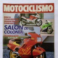 Coches y Motocicletas: MOTOCICLISMO Nº 1075 AÑO 1988 BMW K-1, SUZUKI, YAMAHA, KAWASAKI, SITO PONS GARRIGA - PERFECTO ESTADO. Lote 268888579