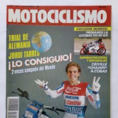 Coches y Motocicletas: MOTOCICLISMO Nº 1124 AÑO 1989 TRIAL TARRÉS, JJ COBAS 125 GP, CICLOMOTORES 50,... - PERFECTO ESTADO. Lote 268890609