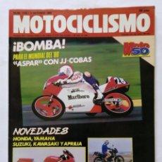 Coches y Motocicletas: MOTOCICLISMO Nº 1128 AÑO 1989 NOVEDADES HONDA, YAMAHA, SUZUKI, KAWASAKI, APRILIA, - PERFECTO ESTADO. Lote 268891019