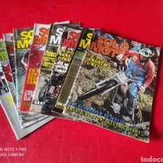 Automobili e Motociclette: LOTE DE 9 REVISTAS SOLO MOTO AÑO 1975 AÑO UNO. Lote 268984644