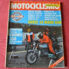 Coches y Motocicletas: MOTOCICLISMO - Nº 692 - FEBRERO 1981 - MONTESA - GUZZI - DUCATI - BENELLI - LAVERDA - SANGLAS. Lote 269048073