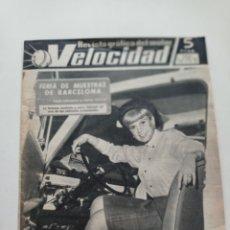 Coches y Motocicletas: VELOCIDAD Nº 196 - REVISTA 1965 // DUCATI OSSA ISO 150 LAMBRETTA SCOOTERLINEA BARREIROS MOBYLETTE. Lote 269293953