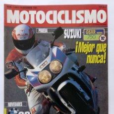 Coches y Motocicletas: MOTOCICLISMO Nº 1243 AÑO 1991 NOVEDADES BMW '92, SUZUKI 750 GSXR, YAMAHA OW 01- PERFECTO ESTADO. Lote 269419123