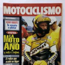 Coches y Motocicletas: MOTOCICLISMO Nº 1248 AÑO 1992 KENNY ROBERTS PILOTAJE, BMW R-100 ROADSTER, HONDA CB - PERFECTO ESTADO. Lote 269441713